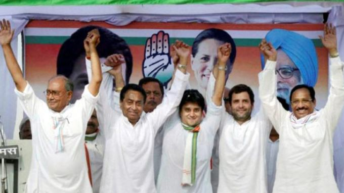 madhya-pradesh-Congress-never-declared-CM-candidate-Yet-did-40-years-of-rule
