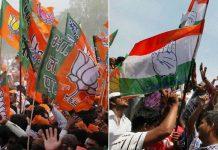 BJP-leaders-beaten-up-Congressmen-for-campaigning