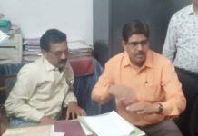 SDM-clerk-arrest-taking-bribe-in-katni-