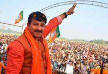 MP-election--Manoj-Tiwari-charged-with-violating-code-of-conduct