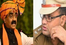 -After-removing-SP--police-angry-to-bjp-mp-rakesh-singh-
