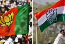 congress-and-bjp-leader-dispute-in-gwalior-during-voting-