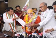 swami-subuddhananda-new-president-of-math-temple-advisory-committee-took-charge