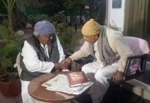mp--after-voting-bjp-senior-leader-gaur-and-congress-mla-arif-akeel-meeting
