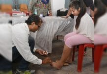physically-challenged-engineering-student-bhavani-reached-polling-booth-