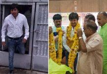 bjp-mla-akash-vijaywargiya-released-from-the-prison-in-indore-
