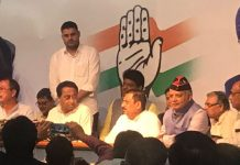 bjp-former-minister-Rajendra-Shukla's-brother-joined-congress