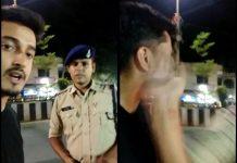 policeman-slap-engineering-student-in-indore-video-viral-madhypradesh