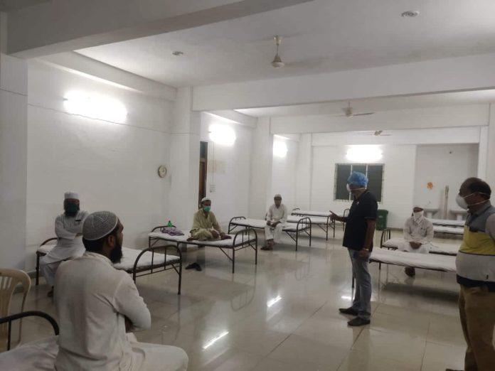 Corona effect: दिल्ली मरकज़ में शामिल होकर आए 5 लोगों को स्वास्थ्य विभाग ने किया क्वारंटाइन