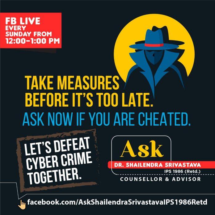"""FB Live: अब हर रविवार 12 से 1 बजे """"आपके सवाल, शैलेन्द्र श्रीवास्तव के जवाब"""""""
