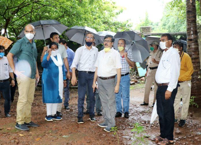 संस्कृति विभाग के मुख्य सचिव शिव शेखर शुक्ला ने किया ओंकारेश्वर का दौरा, दिए जरुरी दिशा-निर्देश
