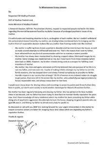 IPS पुरुषोत्तम शर्मा के समर्थन में उतरी बेटी, शिवराज सिंह चौहान और डीजीपी को लिखा पत्र