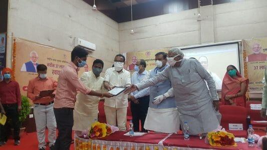 मुख्यमंत्री अन्नपूर्णा योजना 'अन्न उत्सव ' कार्यक्रम हुआ सम्पन्न, 65,600 सदस्यों को दी गई पात्रता पर्ची