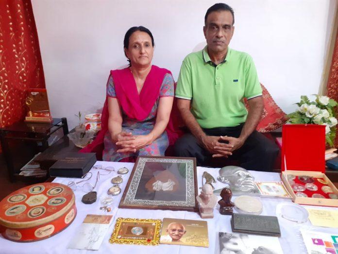 गांधी प्रेमी रोहित खन्ना