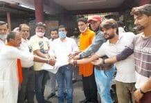 jhabua cmo granted permission for ravan dehan