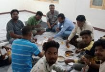 liquor party in covid centre of balaghat