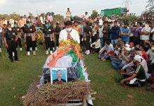 last rites of martyr jawan