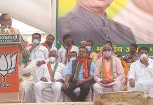 CM Shivraj slams congress in morena