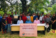 neet qualified students honored by anuppur collector