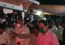 uproar in Khandwa MP Nandkumar Singh Chauhan's meet