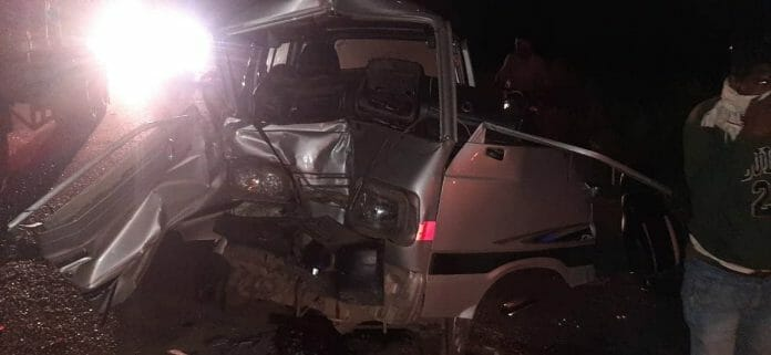 Bhind Road Accident
