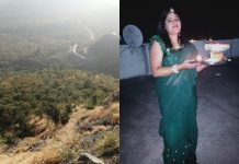 A women lost her life due to selfie indore
