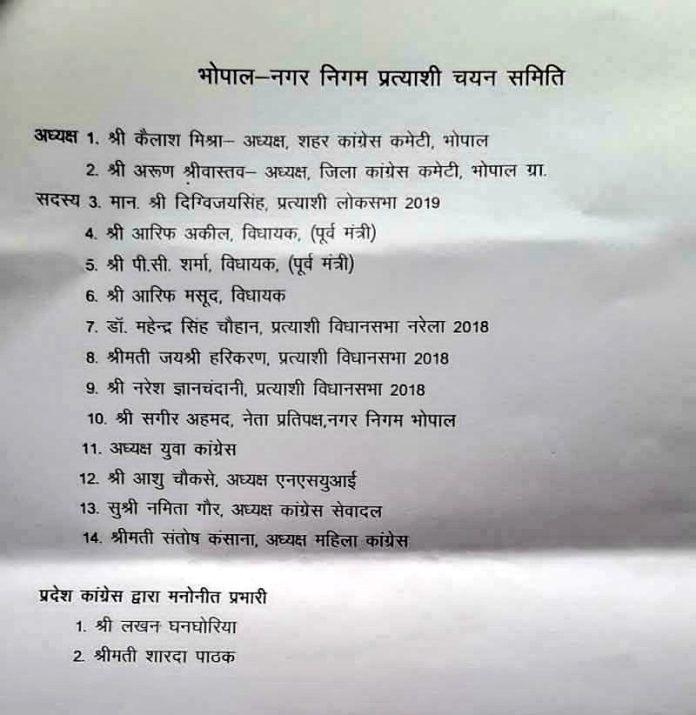 नगरीय निकाय चुनाव : इन जिलों में प्रभारी-सह प्रभारी नियुक्त, पूर्व मंत्रियों को बड़ी जिम्मेदारी