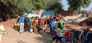 मुरैना : आरोपी के खिलाफ रासुका की कार्रवाई के बाद नगरपालिका ने तोड़ा मकान