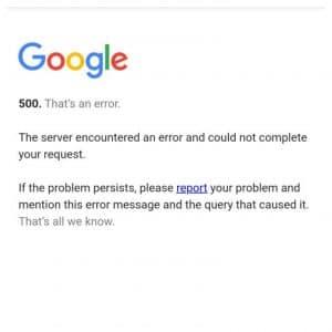 Breaking News : Google की सर्विसेस क्रैश, Gmail, Youtube और Google Voice को एक्सेस नहीं कर पा रहे यूजर्स