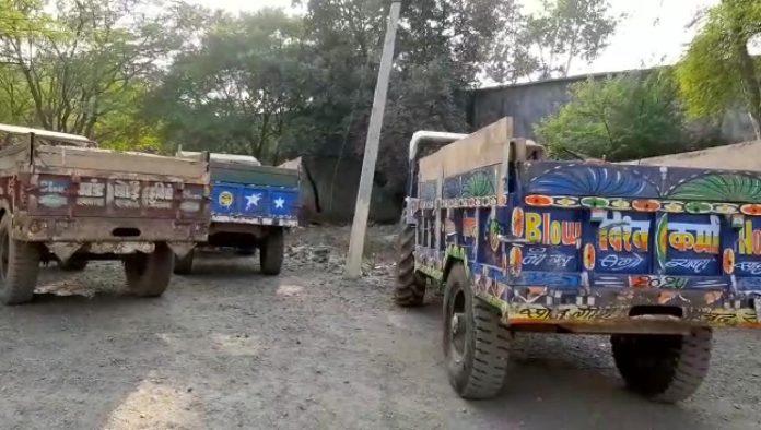 एक्शन में राजगढ़ प्रशासन, अवैध रेत परिवहन पर बड़ी कार्रवाई, 10 ट्रैक्टर ट्रॉली जब्त
