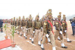 Gwalior- ऊर्जा मंत्री नेफहराया राष्ट्रध्वज, परेड कीसलामी ली, पदयात्रा का एलान