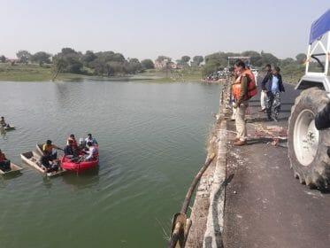 Road Accident : उज्जैन में रेलिंग को तोड़ते हुए नदी में गिरी कार, दो की मौत