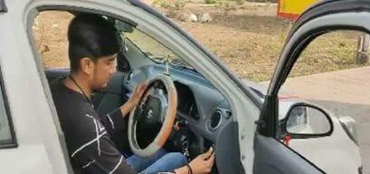 गजब! अब वाहन चोरी पर लगेगी रोक, आगर मालवा के छात्र ने इजाद की अनोखी मशीन