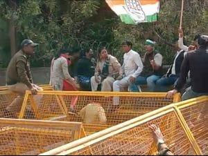 Gwalior: नगर निगम का घेराव करने जा रही कांग्रेस पर वाटर केनन का प्रयोग,लाठीचार्ज