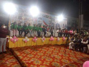 बेटियों का सम्मान : विधायक, कलेक्टर और एसपी ने किया कन्या पूजन