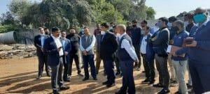 CM के दौरे से पहले नगरीय प्रशासन आयुक्त पहुंचे, निरीक्षण में दिखे सख्त, दिये ये निर्देश