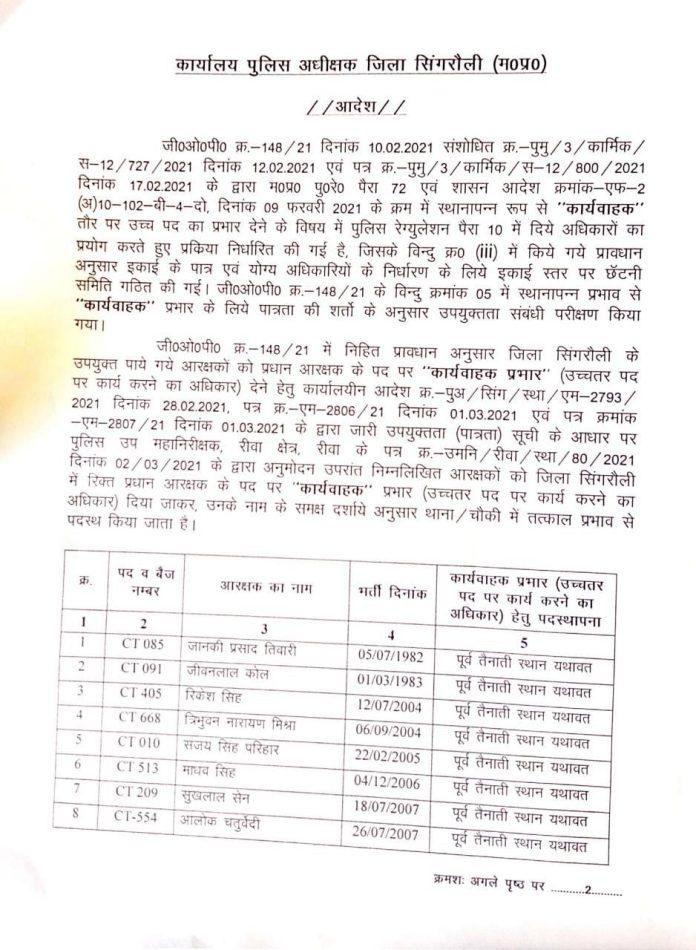 Promotion: MP के इन जिलों के पुलिसकर्मियों को पदोन्नति, यहां देखें पूरी लिस्ट