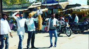 Bhind News: नाराज बघेल समाज ने फूंका ज्योतिरादित्य सिंधिया पुतला