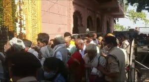 Morena News: अमावस्या पर ऐतिहासिक शनि मन्दिर पर उमड़ा भक्तों का जनसैलाब
