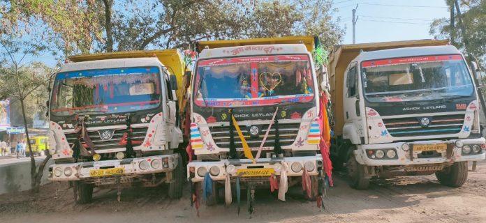 अवैध रेत परिवहन