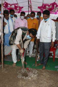 Kandwa News: नल जल योजना का भूमि पूजन कर विधायक डा. कुंवर विजय शाह ने ग्रामवासियों को दी सौगात