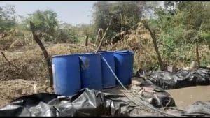 नशा मुक्त अभियान के तहत दतिया में कार्यवाही, लाखों की अवैध शराब की नष्ट