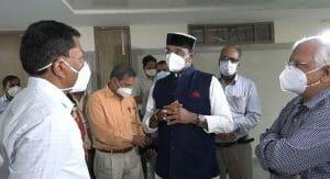 Bhopal News : विश्वास सारंग पहुंचे हमीदिया अस्पताल, व्यवस्थाओं का किया निरीक्षण