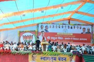 CM Shivraj पहुंचे दमोह, मेडिकल कॉलेज खोलने का किया ऐलान