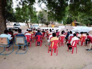 शिवपुरी में बढ़ते कोरोना के चलते शांति समिति की बैठक का आयोजन, कोरोना से बचाव पर हुई चर्चा