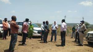 गुना कलेक्टर ने ग्राम टांड़ा, पाली, गोमचीखेड़ा और तिनस्याई का किया दौरा, ग्रामीणों से की चर्चा