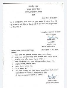 राज्य शासन ने गृह मंत्री नरोत्तम मिश्रा को सौंपी बड़ी जिम्मेदारी, आदेश जारी