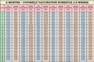 वैक्सीनेशन पर बड़ा फैसला, 12 से 16 वीक में लगेगा कोविशील्ड का दूसरा डोज, प्री बुकिंग पर नहीं होगा असर