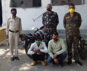 शिवपुरी : पुलिस के हत्थे चढ़ा स्थाई वारंटी, चोर गिरोह भी गिरफ्तार