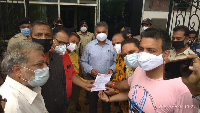 उज्जैन- एएसपी के खिलाफ कार्रवाई की मांग, पत्रकारों ने आईजी को दिया ज्ञापन